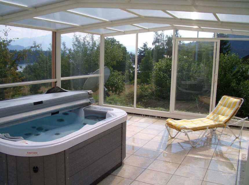Whirlpool outdoor mit überdachung  Whirlpool Überdachung - Outdoor Abdeckung - faltbar & stabil